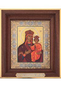 Озеранская Пресвятая Богородица. Размер 14*19 см.