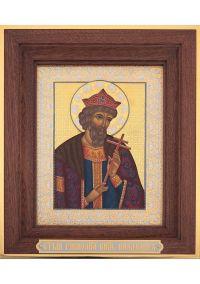Святой Равноапостольный Князь Владимир. Размер 19*24 см.