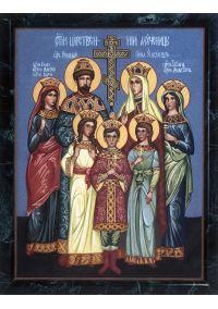 """Икона из каменной крошки """"Святое царство мучеников"""""""