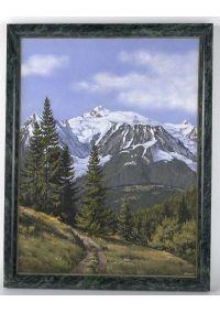 """Картина """"Альпийская гора Монблан"""""""