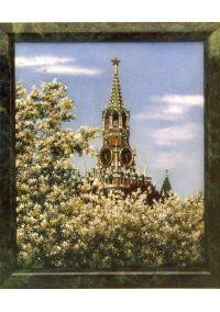 """Подарочная картина """"Спасская башня"""""""