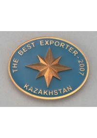 Медаль Экспортер Казахстан